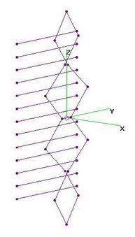 UHF Four Unequal Diamonds - 13 Refl Rods