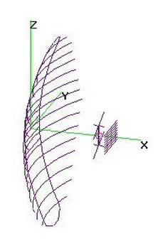 CM4251 Parabolic+FBmod - Opt. 2-Bay 9-RR