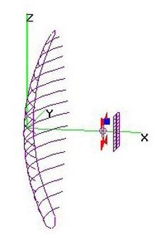 CM-4251 Parabolic+FBmod - Bigger 2-Bay