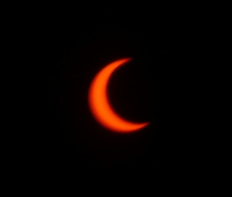 Partial Solar Eclipse from San Diego, CA