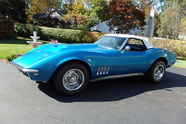 Used Chevrolet Convertible Corvette 425 hp