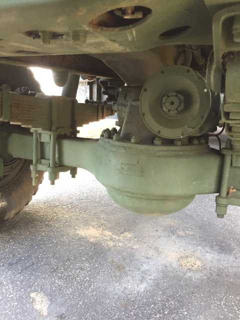 6x6 deuce and half military truck for sale