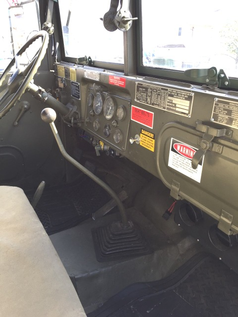 1980 AM General M813A1 military truck