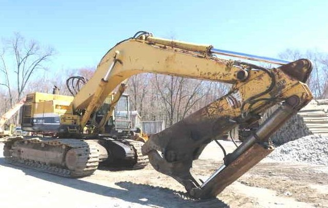 Ultimate Used Demolition Excavator PC-650-3 Komatsu