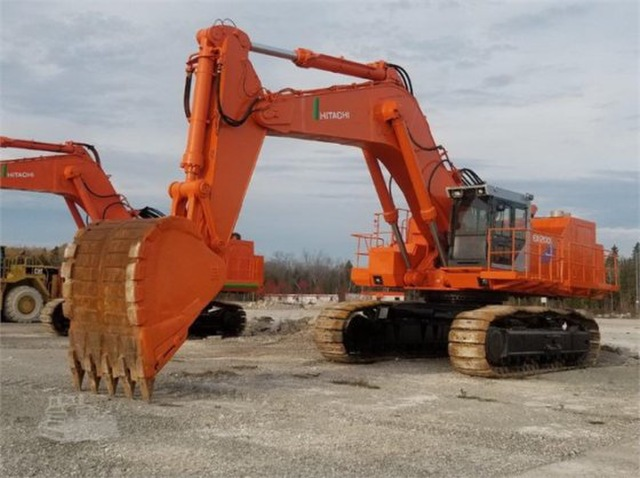 2001 HITACHI EX1200BE-5 Excavator