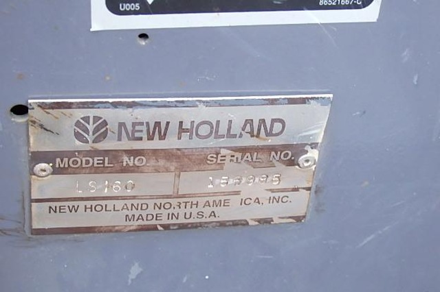 New Holland LS160 Skid Steer