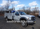 2006 Ford F-550 Utility Service Truck