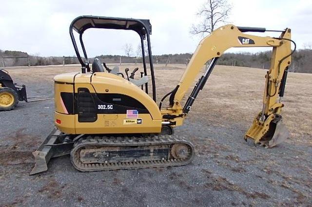 Cat 302.5 mini excavator