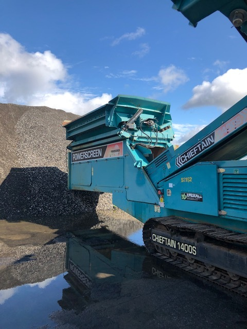 2011 Power Screen Chieftain 1400S Screener One Owner Low hrs