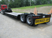 35 Ton Low Boy Trailer Real Clean