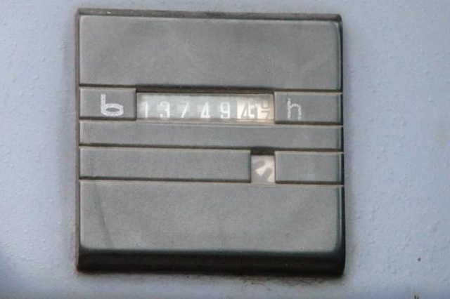 Used Atlas 1804LC Crawler Scrap Handler with 42'' Magnet