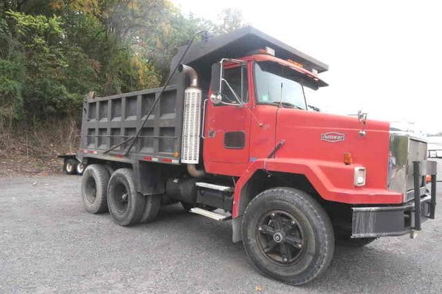 Tandem Axle Autocar Dump Truck Heavy Duty Cat 425