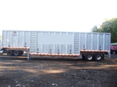 crushed car trailer JHM CCH 2011 New