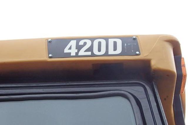 Cat 420D IT