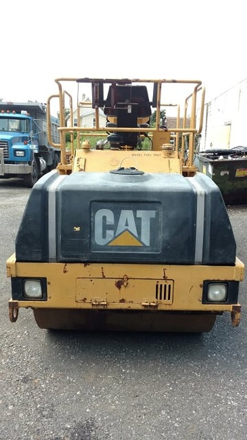 1997 Cat CB434C Double Smooth Drum Vibratory Roller