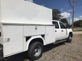 Chevy 3500 Crew Cab 9ft Utility Truck