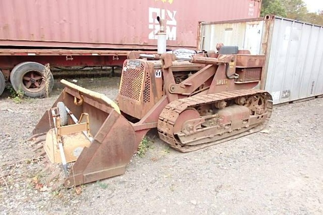 1958 Drott 9K3 crawler loader