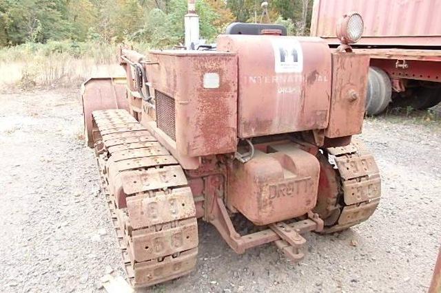 1958 Drott 9K3 crawler loader