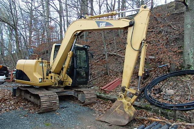 used cat 307c excavator for sale