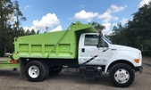F750 Super Duty Single Axle Dump Truck