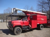 Forestry Bucket Chip Truck 7500