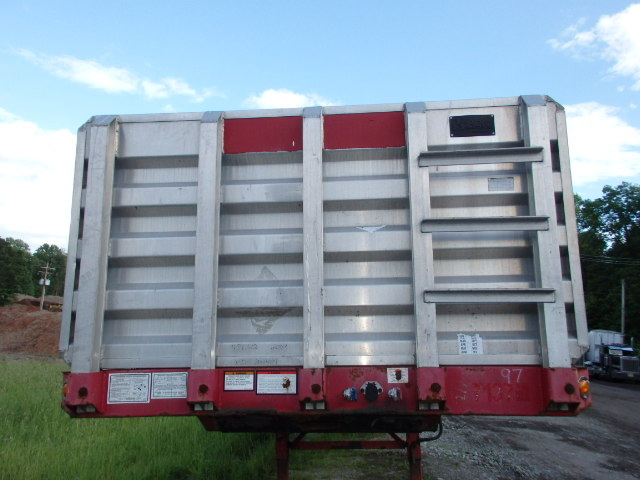 2004 48' x 102' Great Dane Combination Flat Bed Trailer