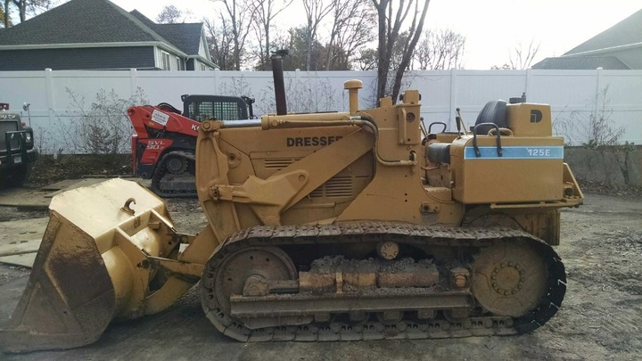 1980 International 125E Crawler Track Loader