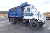 International 8100 single axle dump