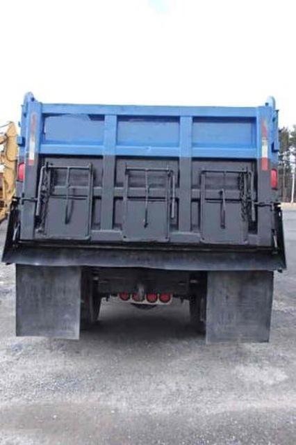 International 8100 single axle dump truck