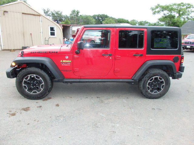 2015 Jeep Wrangler Unlimited 4dr Rubicon Hard Rock