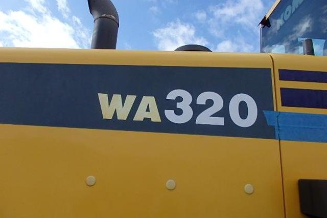 Komatsu WA 320-6 Wheel Loader