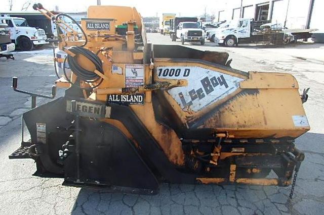 2005 Leeboy 1000D Paver