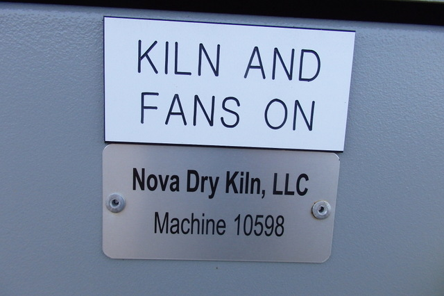 Lumber Dry Kiln | Nova TTF-6200 Kiln for sale | wood waste furnace H300HE