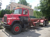 Mack Roll Off Truck for sale