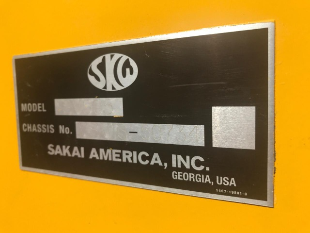 Sakai SV505 T Roller
