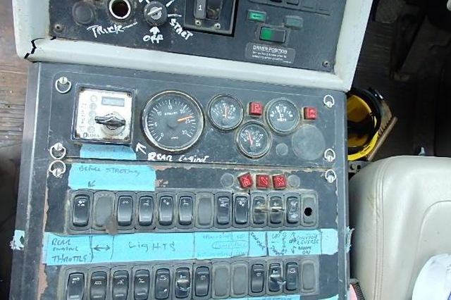 Freightliner FL 70  with Schwarze 6000 Sweeper