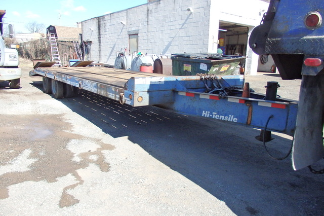 tag along trailer|eager beaver paver special 24' long deck