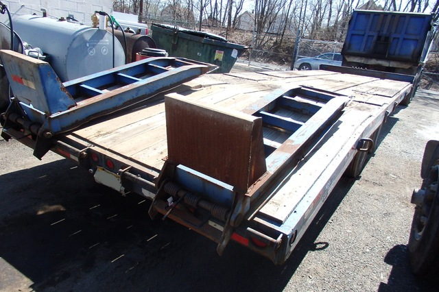 tag along trailer | eager beaver paver special 24' long deck