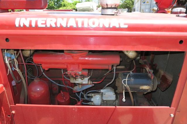 1950 International TD 9 Antique Crawler Tractor