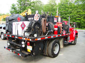 Used Fuel Lube Truck F700 for sale
