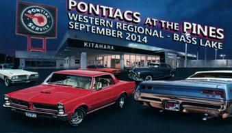 2014 Pontiacs at the Pines Bass Lake