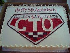 Golden Gate Goats Birthday Luau - 2001