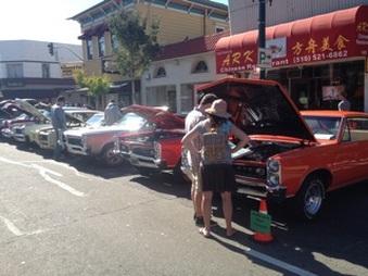 Park St. Car Show 10/2014