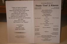 """Duane """"Toot"""" J. Klassen"""