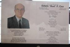 "Edwin ""Bud"" Frederick Cox"