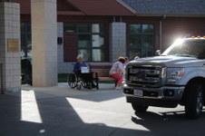 Family Parade at Norfolk Veterans Home
