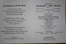 "Raymond V ""Ray""  Hurtig"