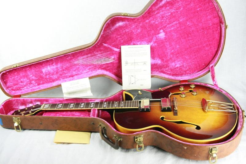 1961 Gibson ES 350T Sunburst 2 PAF s Rare Florentine