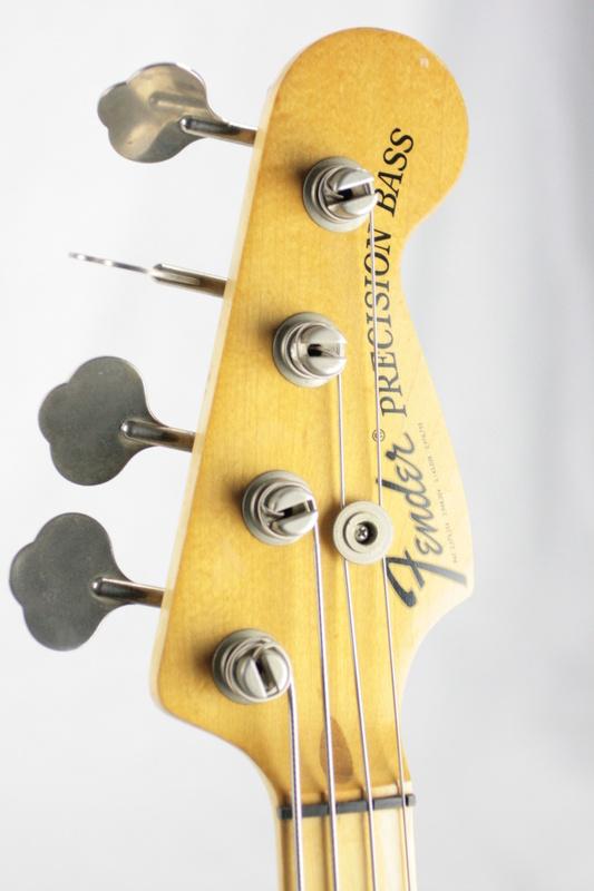 1974 1975 fender precision bass mocha maple fretboard 1970 39 s p jazz v kansas city vintage guitars. Black Bedroom Furniture Sets. Home Design Ideas
