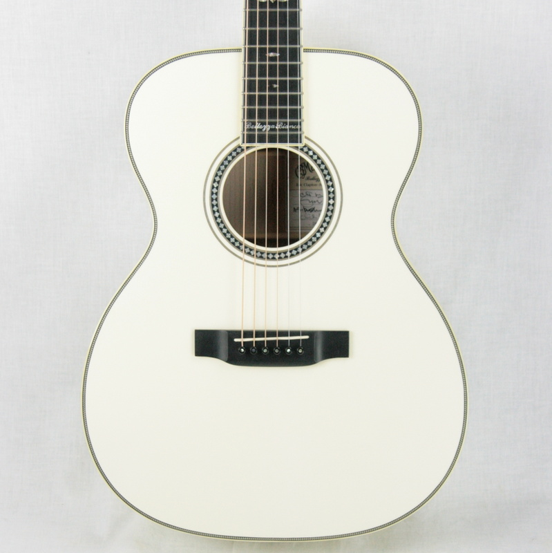 2006 martin bellezza bianca signed eric clapton 000 echf white acoustic guitar 28 42 guitars. Black Bedroom Furniture Sets. Home Design Ideas